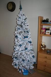 Kerstboom zonder licht